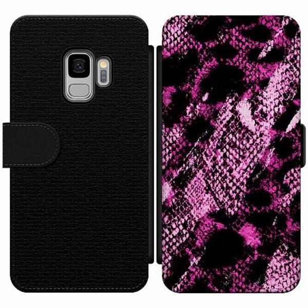 Samsung Galaxy S9 Wallet Slim Case Snakeskin P