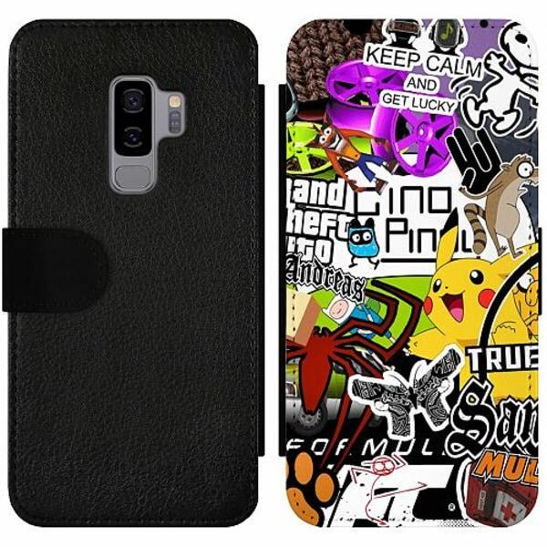Samsung Galaxy S9+ Wallet Slim Case Stickers