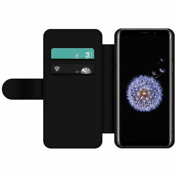 Samsung Galaxy S9 Wallet Slim Case Deathly Hallows