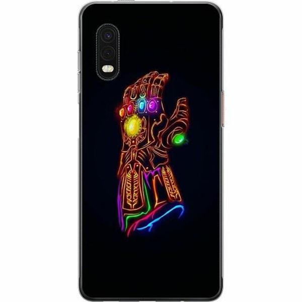 Samsung Galaxy XCover Pro Mjukt skal - Fortnite Thanos