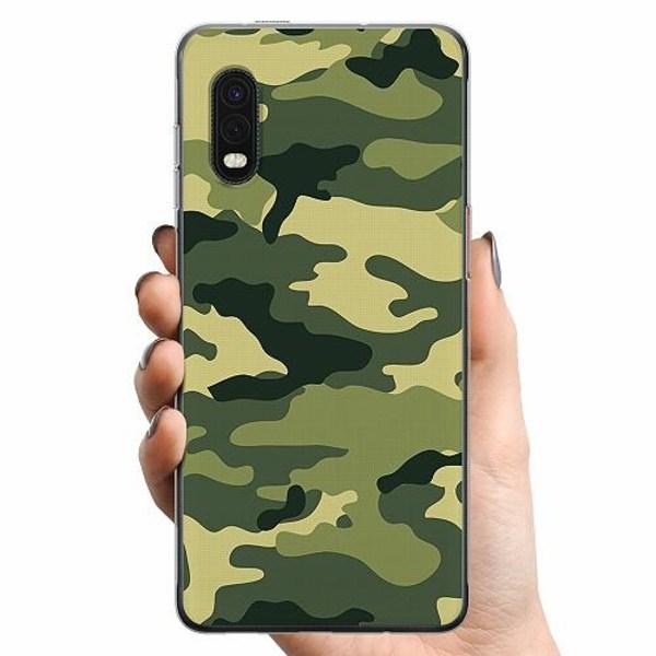 Samsung Galaxy XCover Pro TPU Mobilskal Military