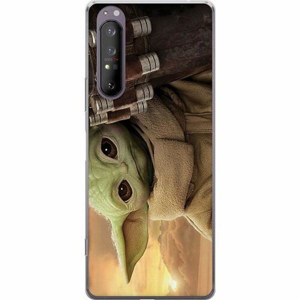 Sony Xperia 1 II Mjukt skal - Baby Yoda