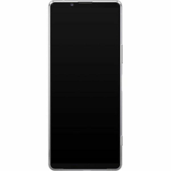 Sony Xperia 1 II Mjukt skal - Blommor