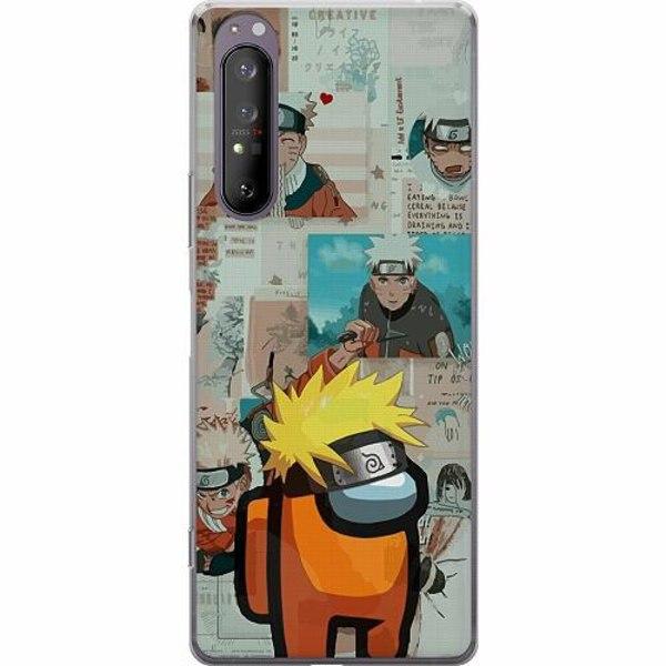 Sony Xperia 1 II Mjukt skal - Naruto