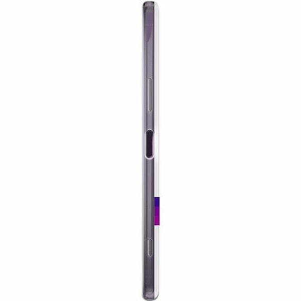 Sony Xperia 1 II Thin Case MineCraft Rainbow
