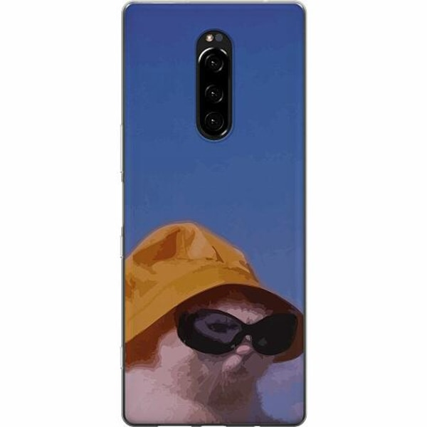 Sony Xperia 1 Mjukt skal - Say What, Cat