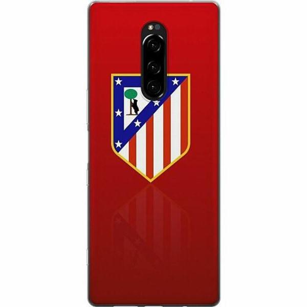Sony Xperia 1 Mjukt skal - Club Atlético de Madrid S.A.D