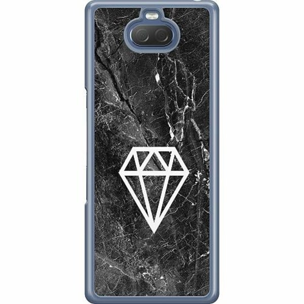 Sony Xperia 10 Hard Case (Transparent) Diamond