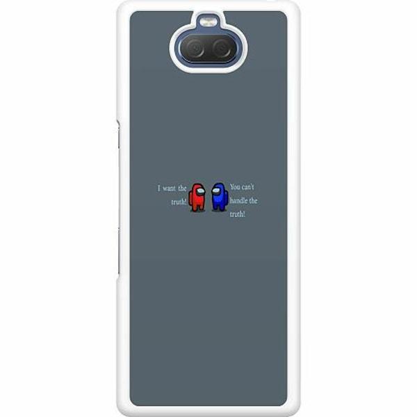 Sony Xperia 10 Hard Case (Vit) Among Us