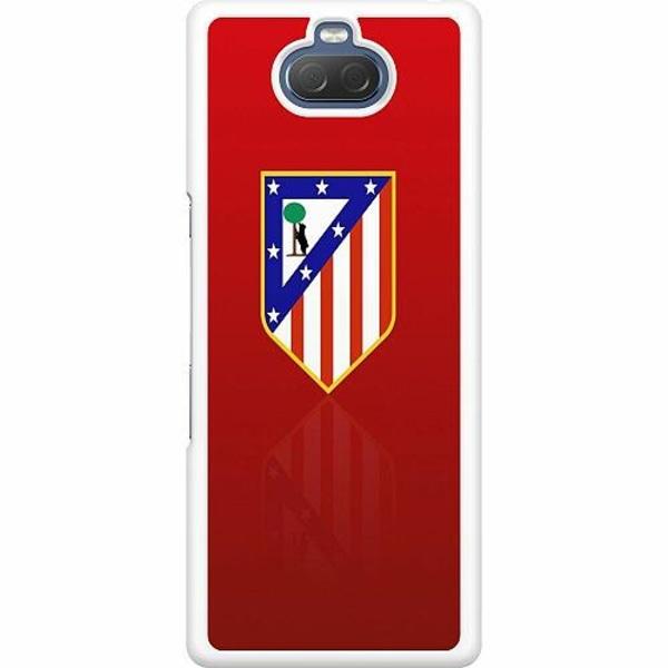 Sony Xperia 10 Hard Case (Vit) Club Atlético de Madrid S.A.D