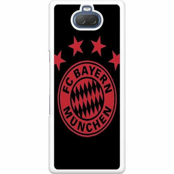 Sony Xperia 10 Hard Case (Vit) FC Bayern München
