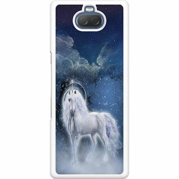Sony Xperia 10 Hard Case (Vit) Magical Horse