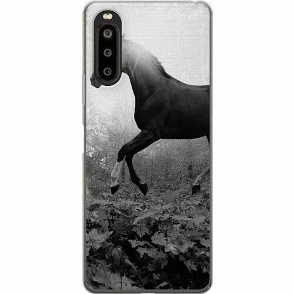 Sony Xperia 10 II TPU Mobilskal Häst / Horse