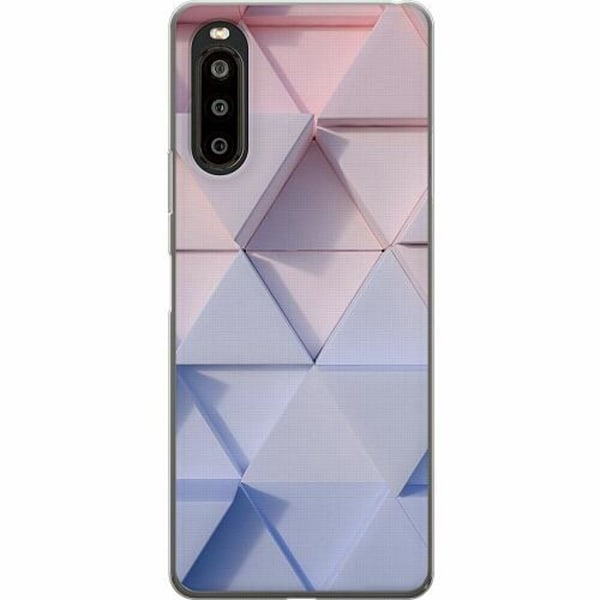 Sony Xperia 10 II TPU Mobilskal Pattern