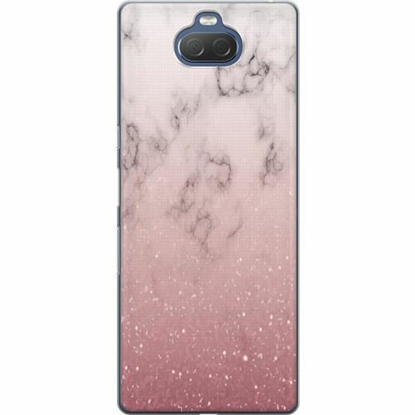 Sony Xperia 10 Thin Case Soft Pink Marble