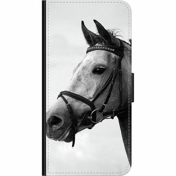 Xiaomi Redmi 9C Wallet Case Häst