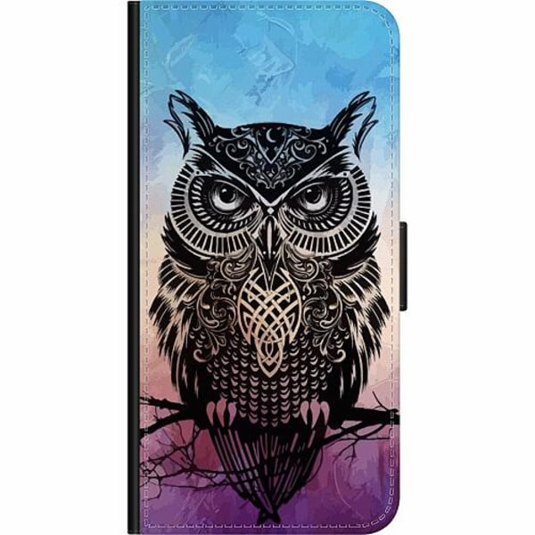 Xiaomi Redmi 9C Wallet Case Owl