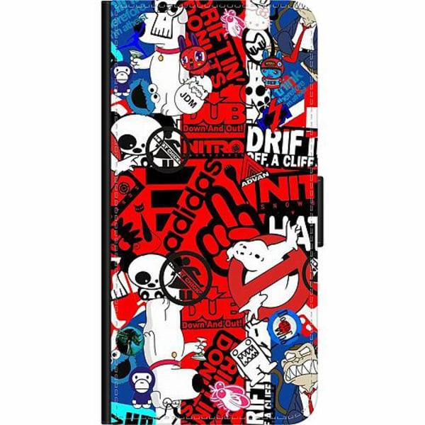 Xiaomi Redmi 9C Wallet Case Stickers