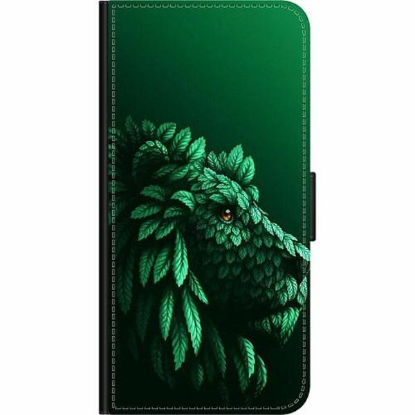 Xiaomi Redmi 9C Wallet Case Vegan Lion