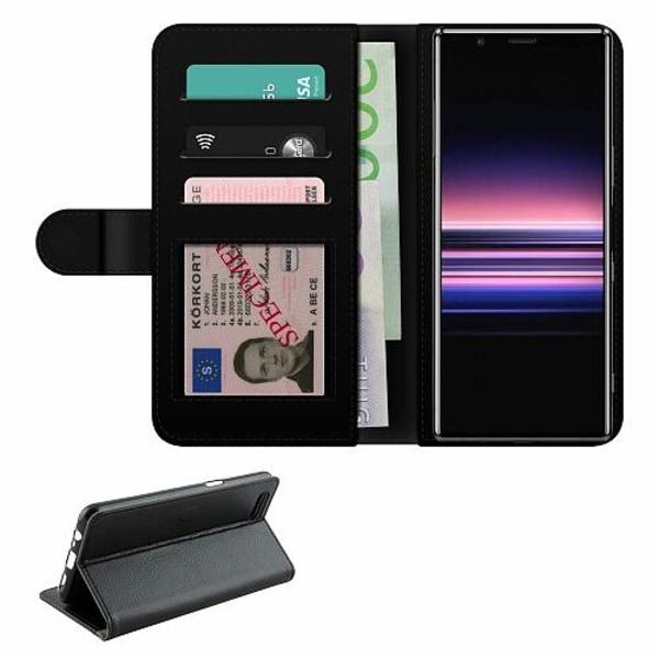 Sony Xperia 5 Fodralväska Adicolor