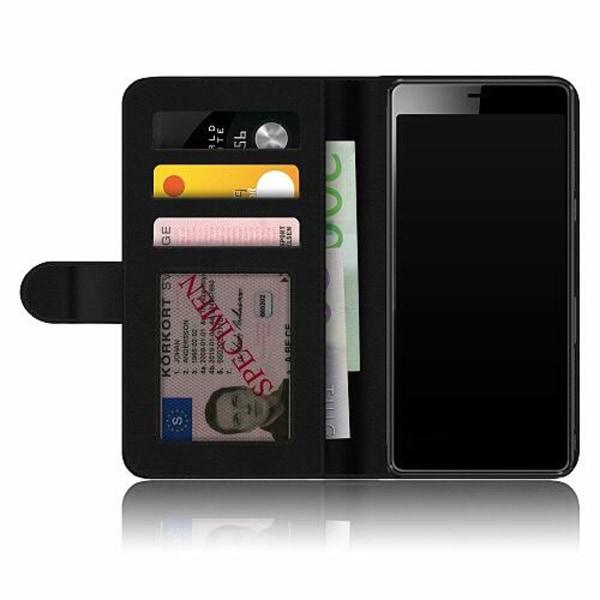 Sony Xperia L3 Fodralskal Flower on LCD