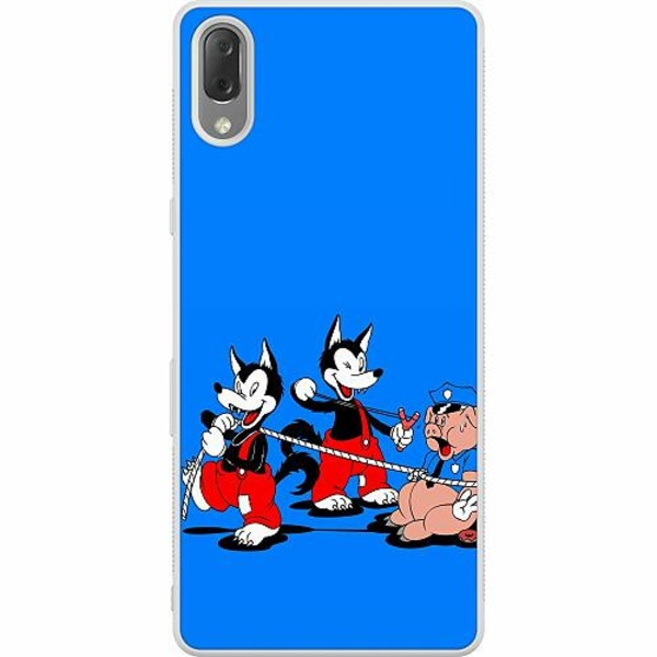 Sony Xperia L3 Soft Case (Frostad) Wolves