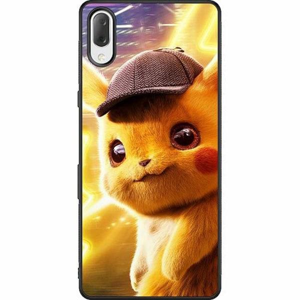 Sony Xperia L3 Soft Case (Svart) Detective Pikachu - Pikachu