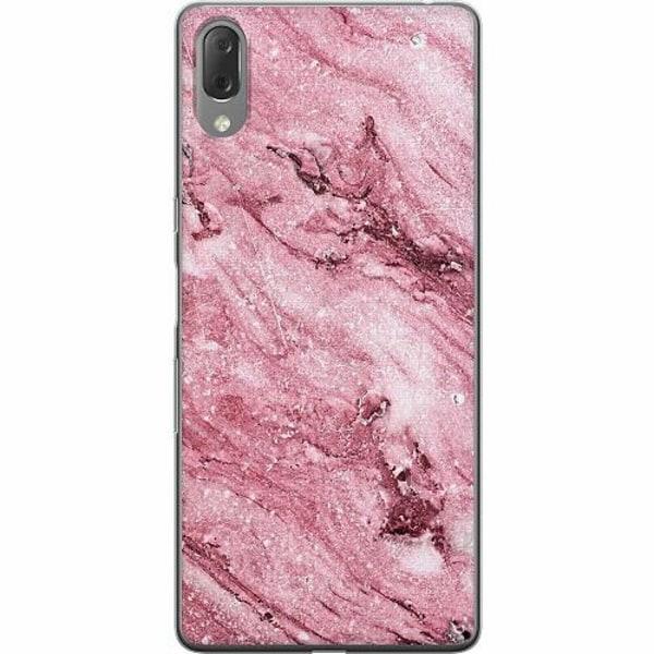 Sony Xperia L3 Thin Case Glitter Marble