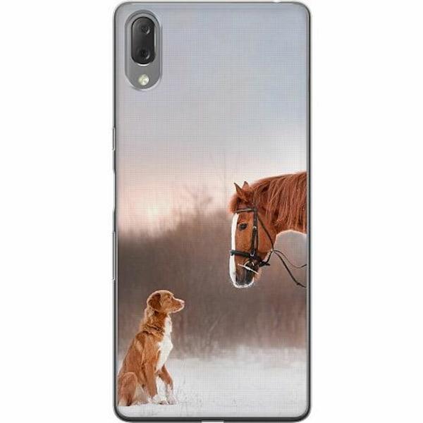 Sony Xperia L3 Thin Case Häst & Hund