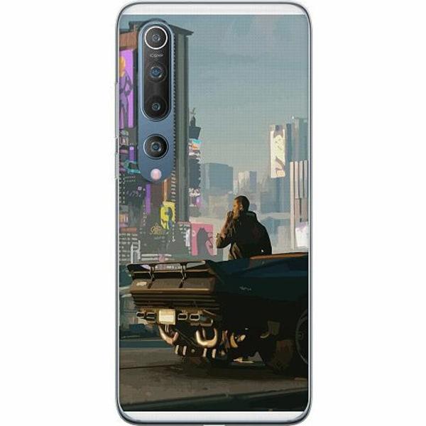 Xiaomi Mi 10 Thin Case Cyberpunk 2077