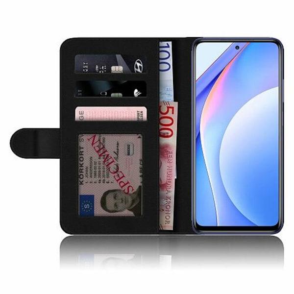 Xiaomi Mi 10T Lite Mobilskalsväska Pink Shrubs