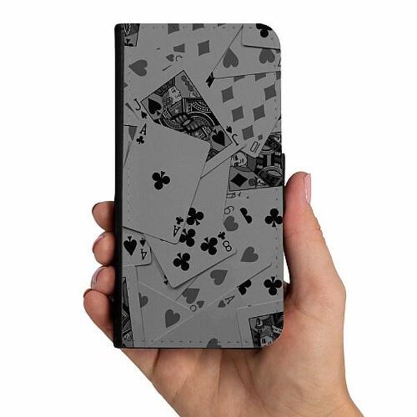 Samsung Galaxy A40 Mobilskalsväska Dark Cards
