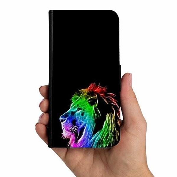 Samsung Galaxy A50 Mobilskalsväska Lion