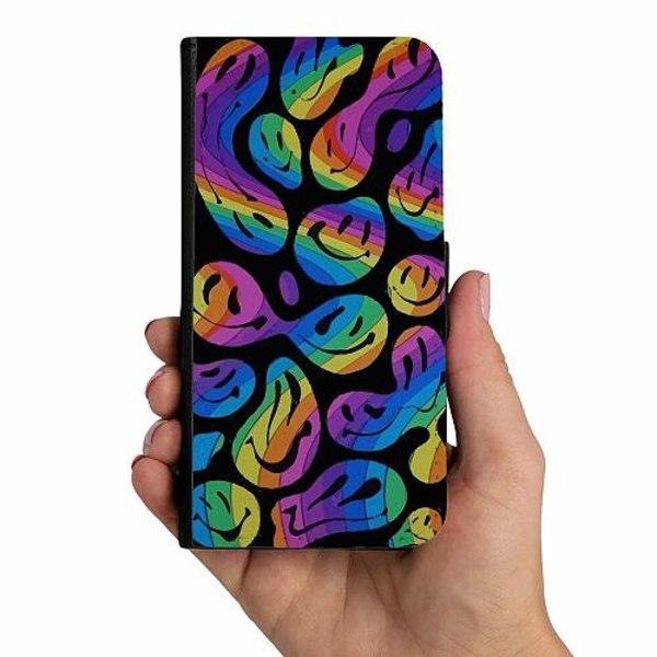 Samsung Galaxy A40 Mobilskalsväska Rosa Elefanter