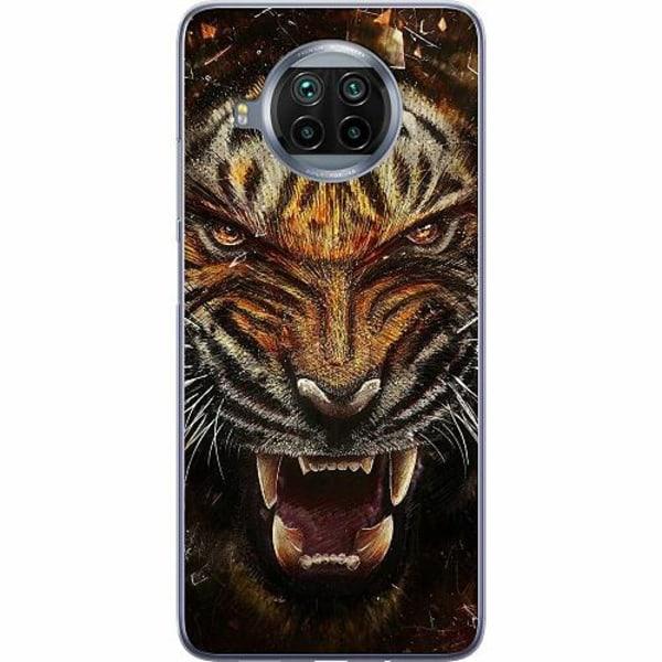 Xiaomi Mi 10T Lite Mjukt skal - Angry Tiger