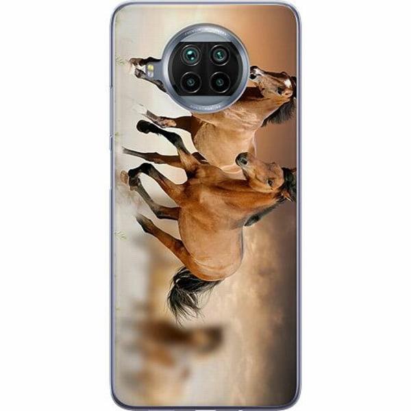 Xiaomi Mi 10T Lite Mjukt skal - Hästar