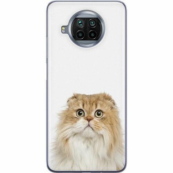 Xiaomi Mi 10T Lite Mjukt skal - PopUp Scared Cat