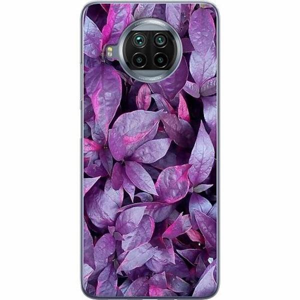 Xiaomi Mi 10T Lite Mjukt skal - Purple Shrubs
