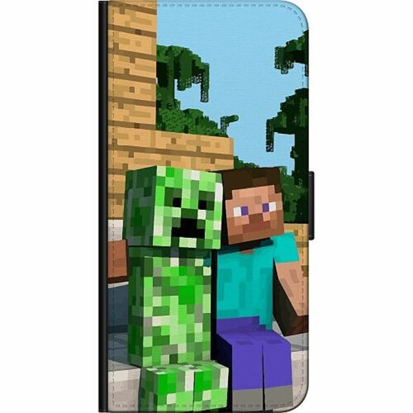 Apple iPhone XS Max Billigt Fodral MineCraft