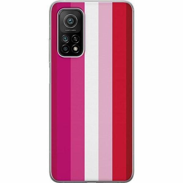 Xiaomi Mi 10T Pro 5G TPU Mobilskal Pride - Lesbian