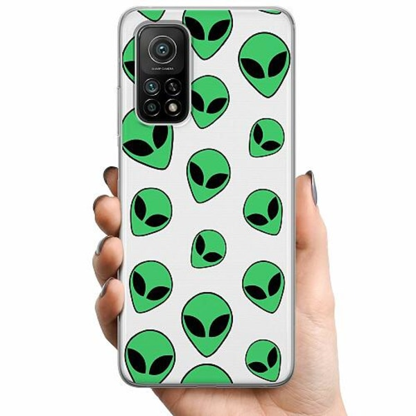 Xiaomi Mi 10T Pro 5G TPU Mobilskal Alien Emojis