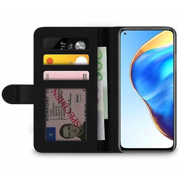 Xiaomi Mi 10T Pro 5G Wallet Case Blommor