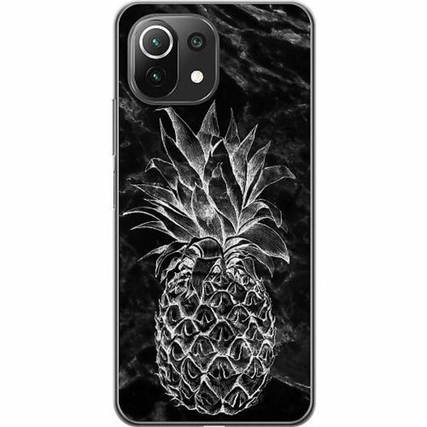 Xiaomi Mi 11 Lite 5G Thin Case Marmor Ananas