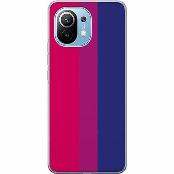 Xiaomi Mi 11 Thin Case Pride - Bisexual