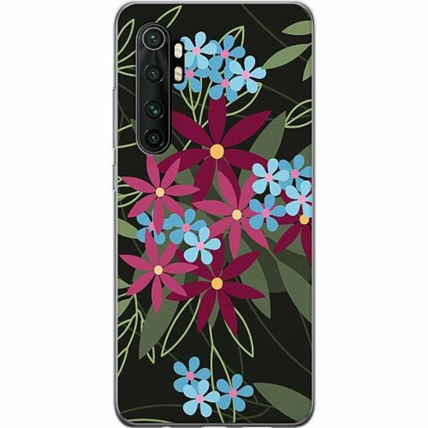 Xiaomi Mi Note 10 Lite TPU Mobilskal Flowerz