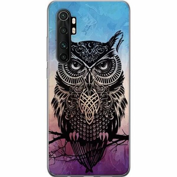 Xiaomi Mi Note 10 Lite TPU Mobilskal Owl