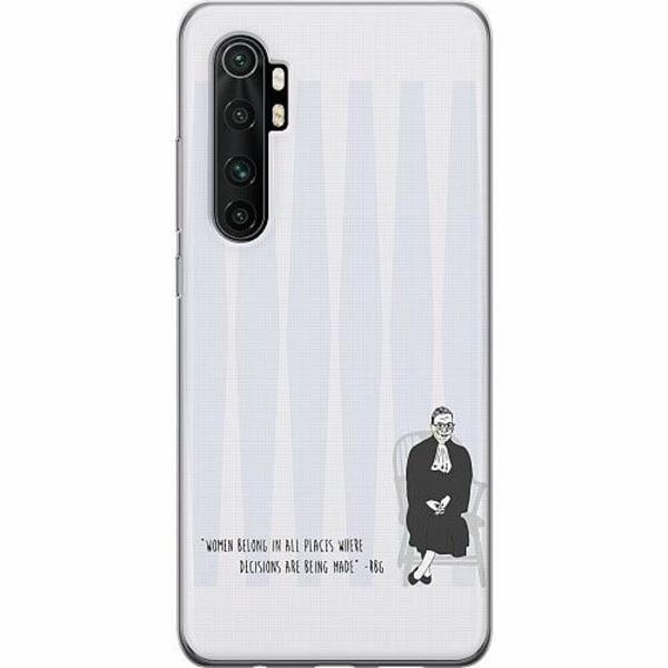 Xiaomi Mi Note 10 Lite TPU Mobilskal Ruth Bader Ginsburg (RBG)