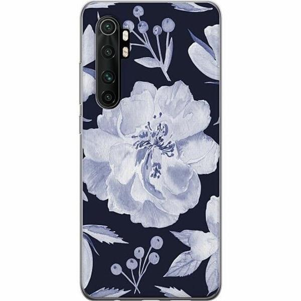 Xiaomi Mi Note 10 Lite TPU Mobilskal Rythm and Blue Hues