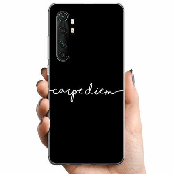 Xiaomi Mi Note 10 Lite TPU Mobilskal carpe diem