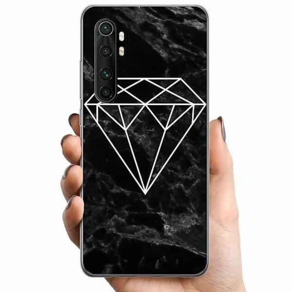 Xiaomi Mi Note 10 Lite TPU Mobilskal Diamant